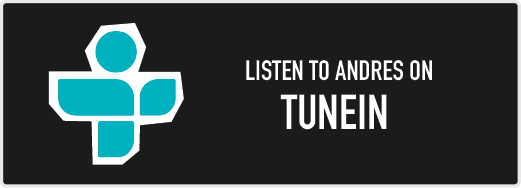 Listen to Andres on TuneIn